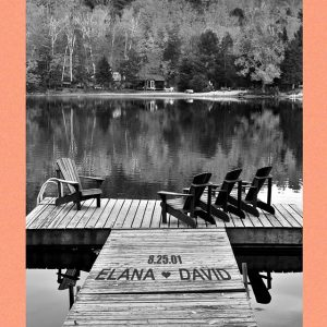 B&W Fall Dock