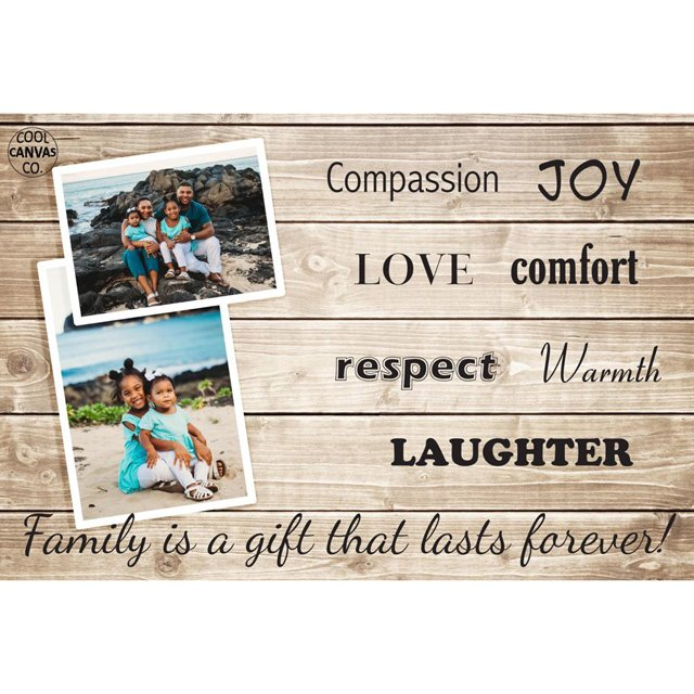 Family Love Wooden